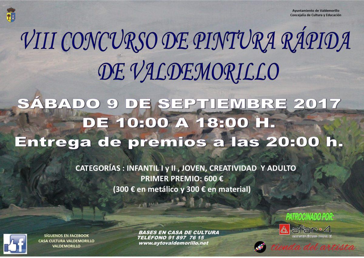 Concurso de Pintura Rápida de Valdemorillo 2017