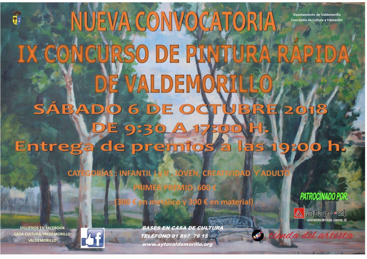 Concurso de Pintura Rápida de Valdemorillo 2018