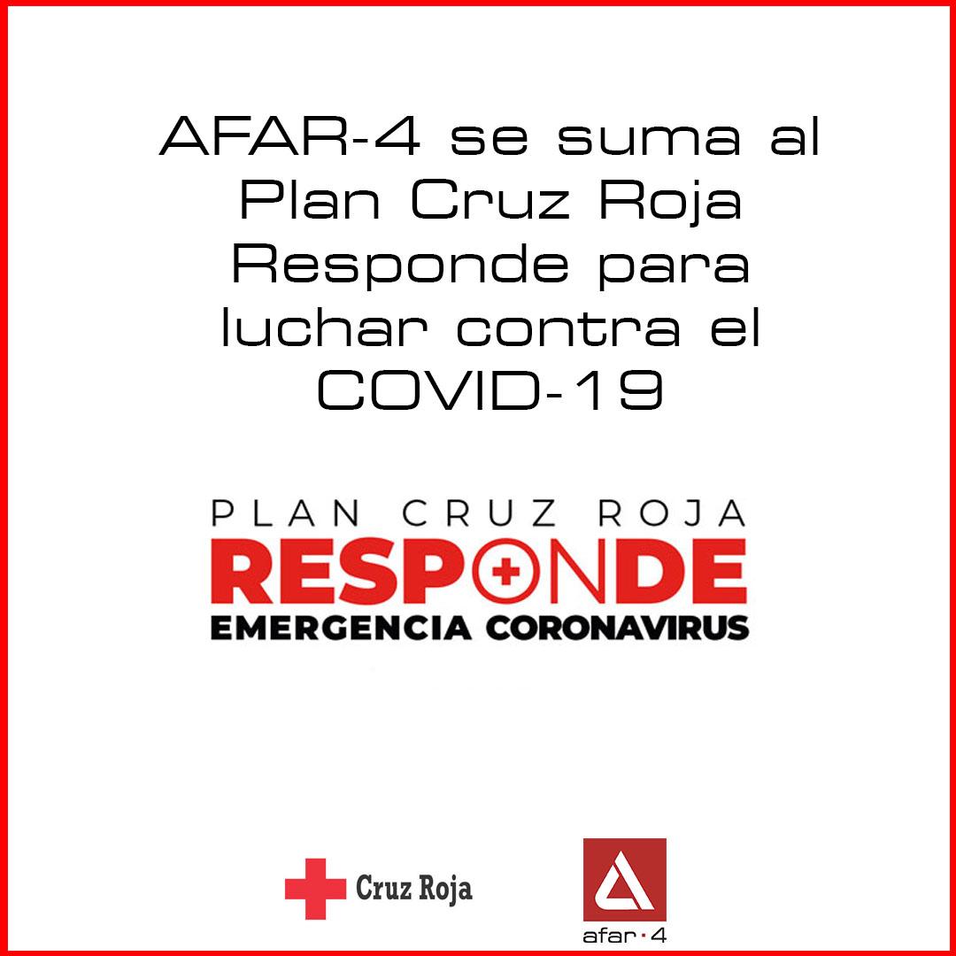AFAR-4 lanza una campaña solidaria para la lucha contra el COVID-19