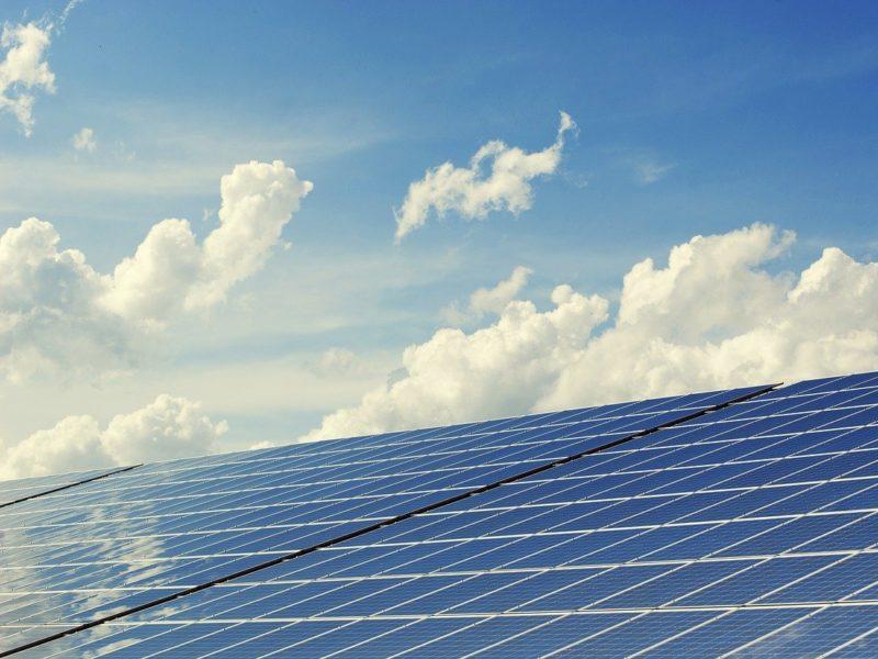 Ahorro con placas solares